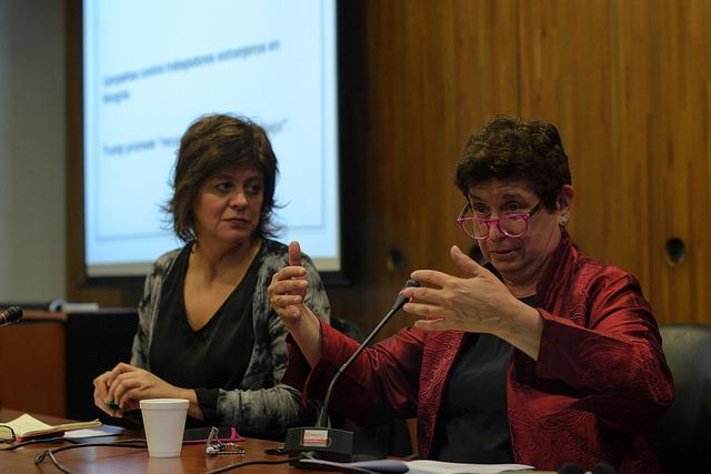Conferencia de Joan Tronto