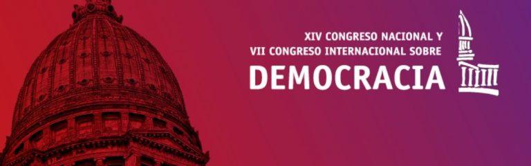 Invitación a participar en Rosario del XIV Congreso Nacional y VII Internacional sobre Democracia