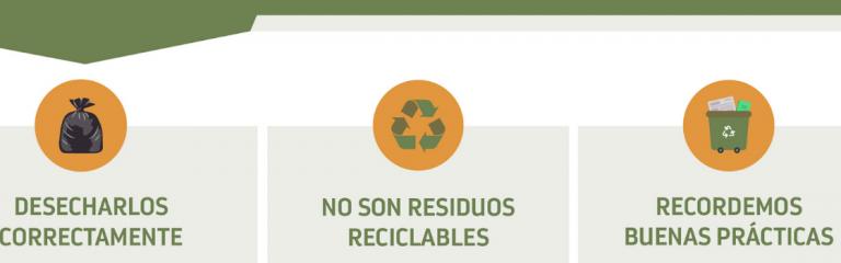 Campaña de gestión de residuos de artículos de protección personal en tiempos de COVID-19