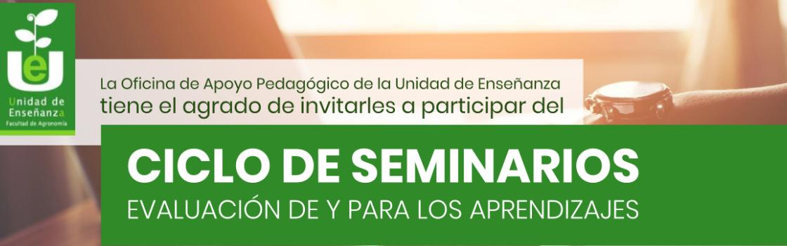 Ciclo de seminarios para formación docente