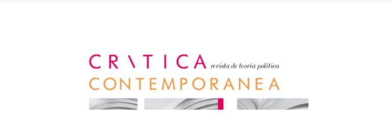 La revista Crítica Contemporánea convoca a la presentación de contribuciones para edición especial sobre COVID-19