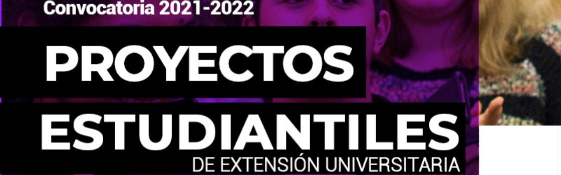 Convocatoria a proyectos estudiantiles de extensión