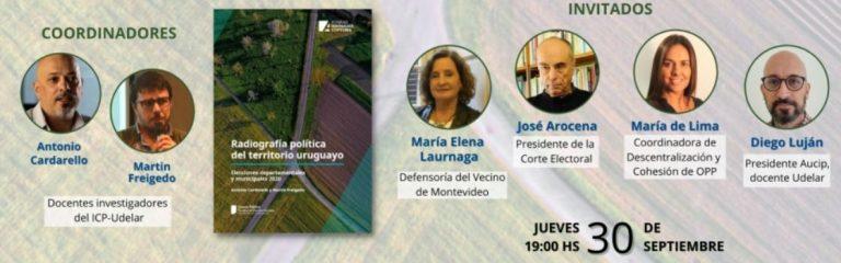 Presentación libro «Radiografía política del territorio uruguayo»