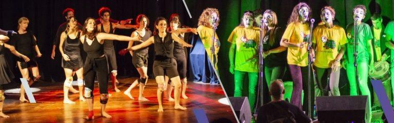Talleres presenciales de murga y danza contemporánea